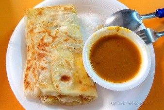 Roti Prata - Fried pancake (Indian origins)