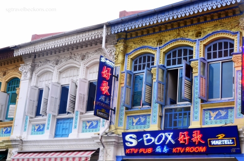 Conserved shophouses