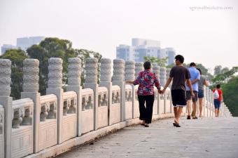 Bridge within the Gardens