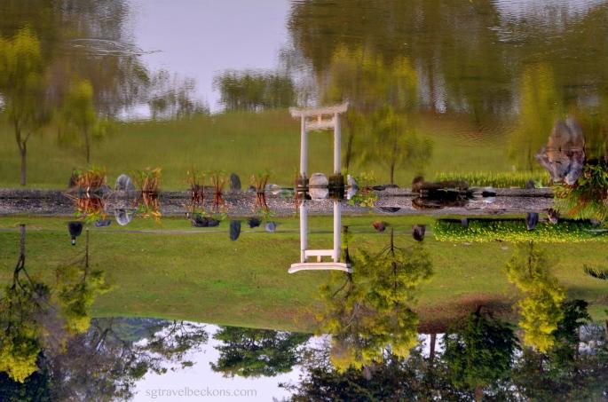 A 'Tori' in the Japanese Garden